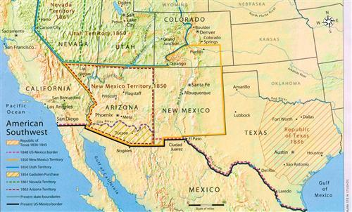 Family Tree Fiesta Family Tree - Is new mexico part of the united states