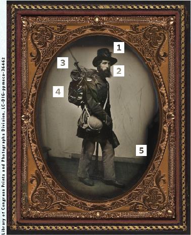 Portrait of Pvt. Albert H. Davis.