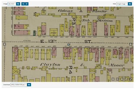 Using Sanborn maps to research ancestral neighborhoods.