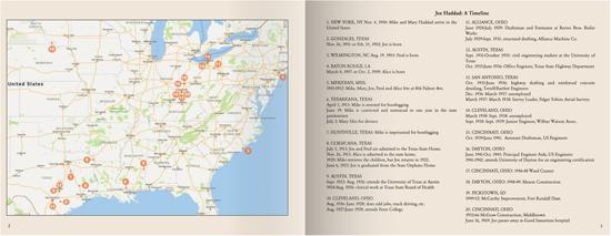 genealogy map timelines