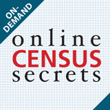 1940 Online Census Secrets Webinar