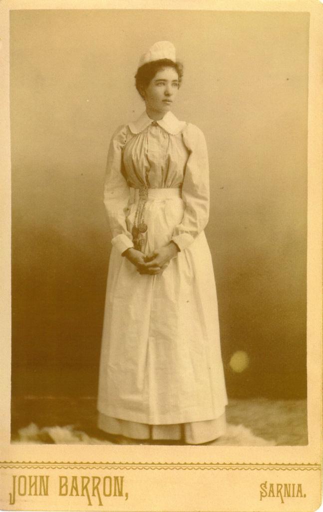 1890s nurse photo