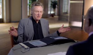 "christopher walken on ""Finding Your Roots"""