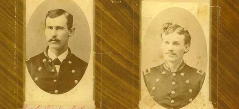 old military uniforms in photos