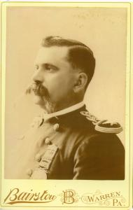 old photo of man in military uniform