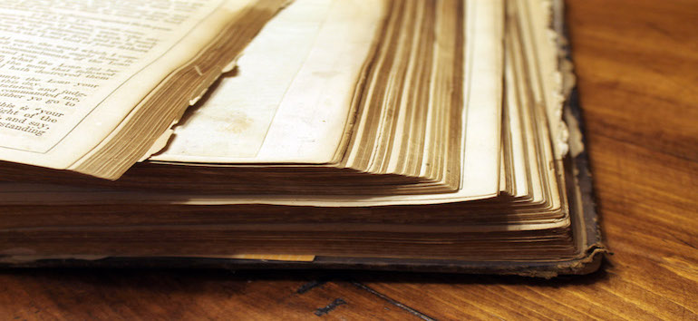 Preserving Family Bible Heirloom