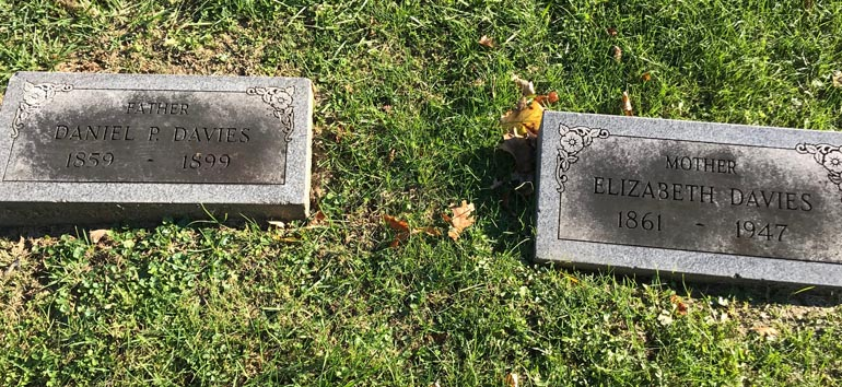death investigation headstones