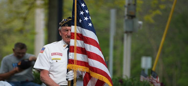November 11 Veterans Day Honoring Military Vets