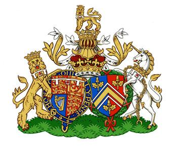 royal family coat of arms