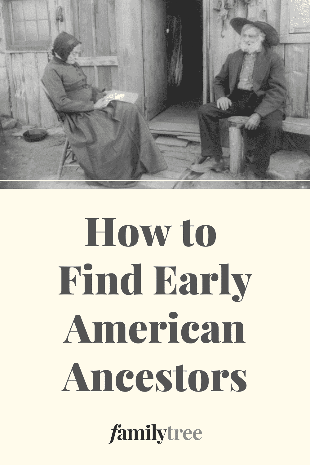 How to Find Early American Ancestors