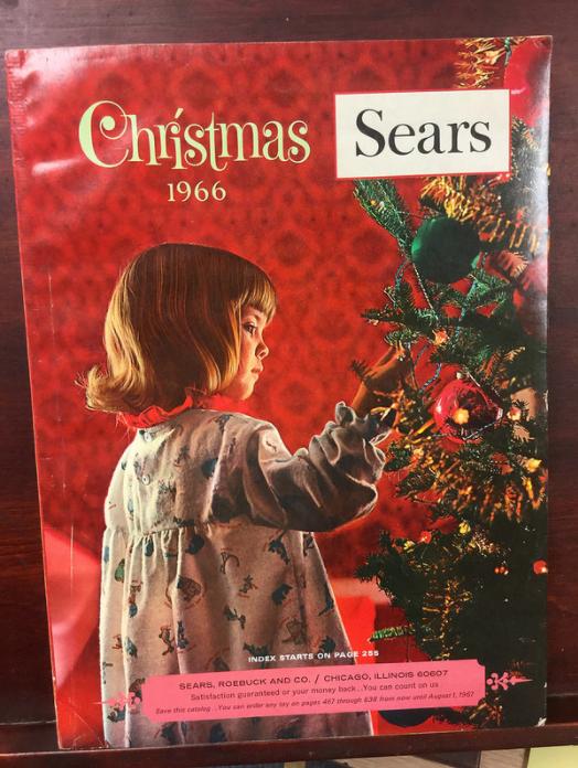Sears Wish Book Returns Catalog