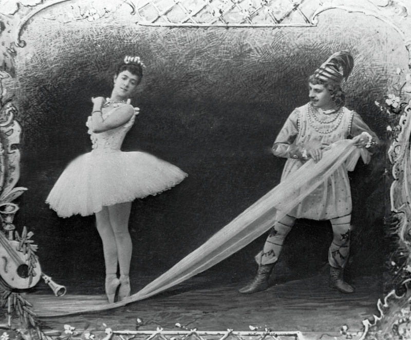 An illustration for the original production of the Nutcracker in 1892.