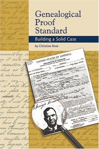 The Genealogical Proof Standard book cover