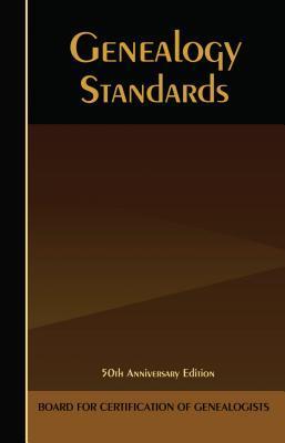 BCG Genealogy Standards Manual