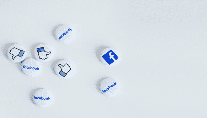 Tiles with social media icons.