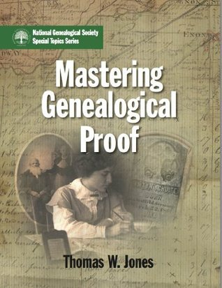 Mastering Genealogical Proof book cover