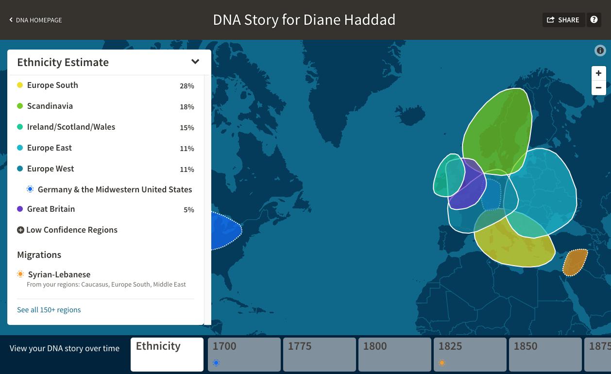 AncestryDNA's Migrations