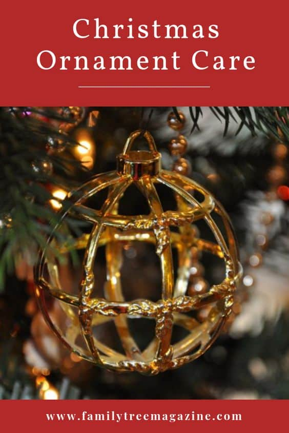 How to Care for Old Christmas Ornaments