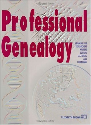Professional Genealogy cover