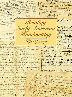 Reading Early American Handwriting book cover