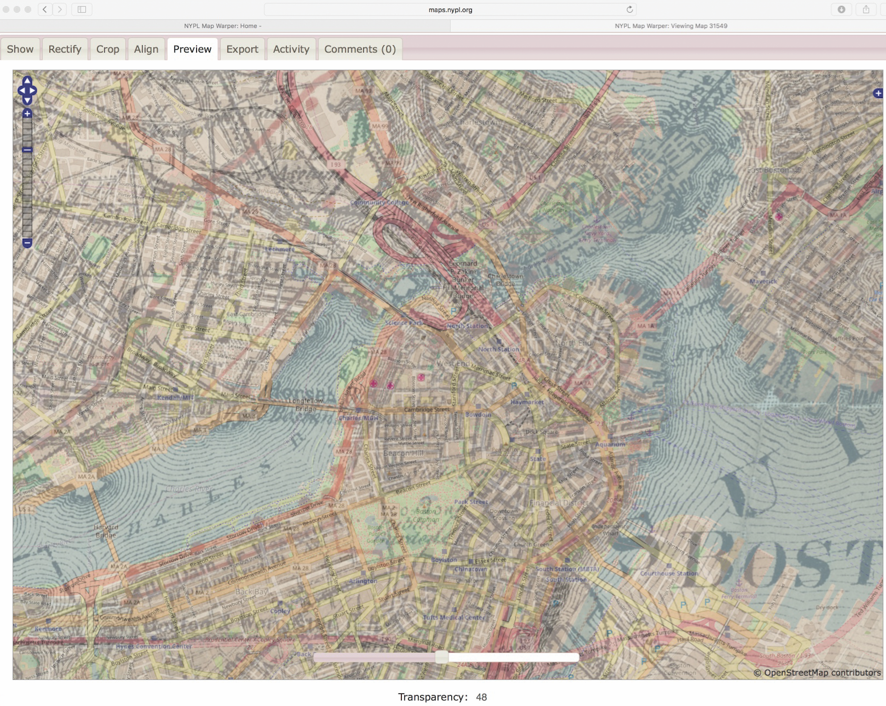 NYPL Map Warper how-to old maps