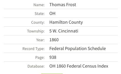 1860 census index