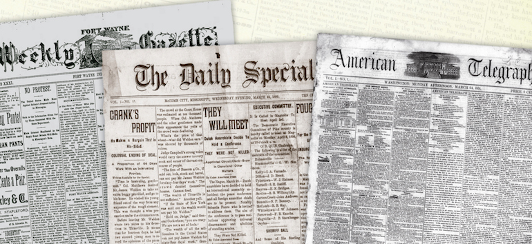 Win A Copy Of The Family Tree Historical Newspapers Guide Family Tree