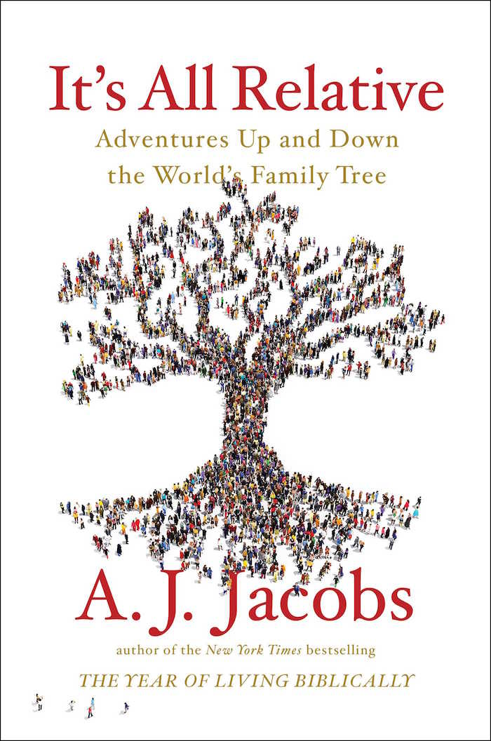 AJ Jacobs It's All Relative Genealogy Book