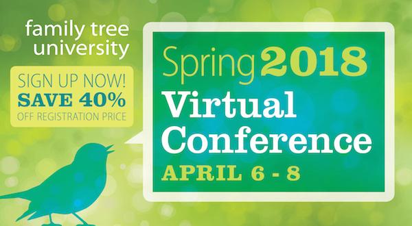 Genealogy Conference Online
