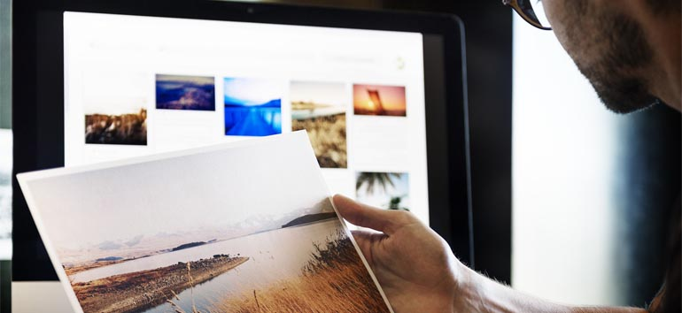 Storing photos and records online using Google.
