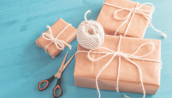 Homemade family history crafts and gifts.