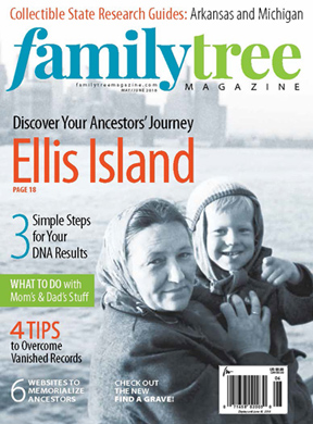 Family Tree Magazine new look