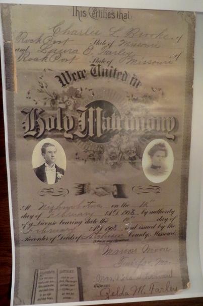wedding certificates identification understanding maureen taylor