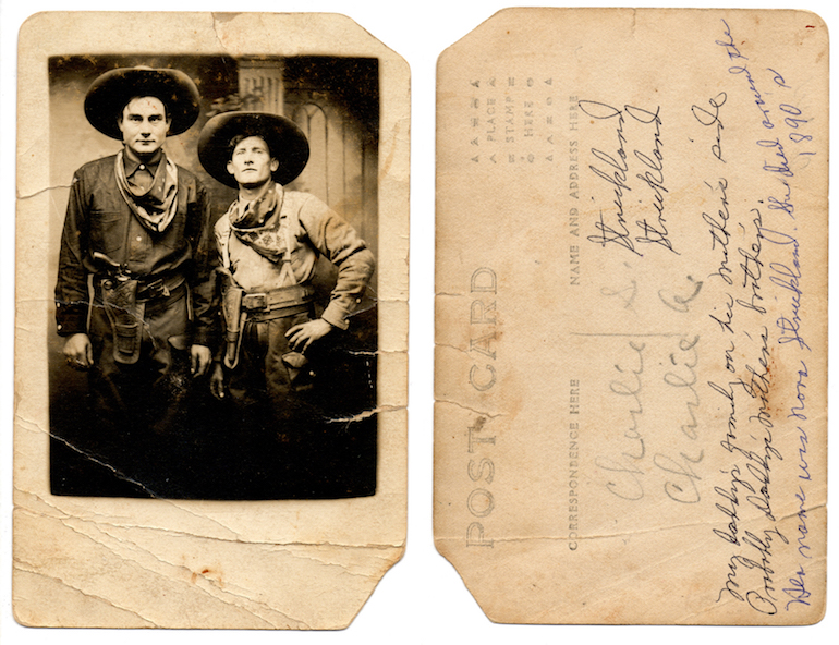 photo identification hand writing detective maureen taylor census
