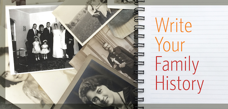 how to write your family history