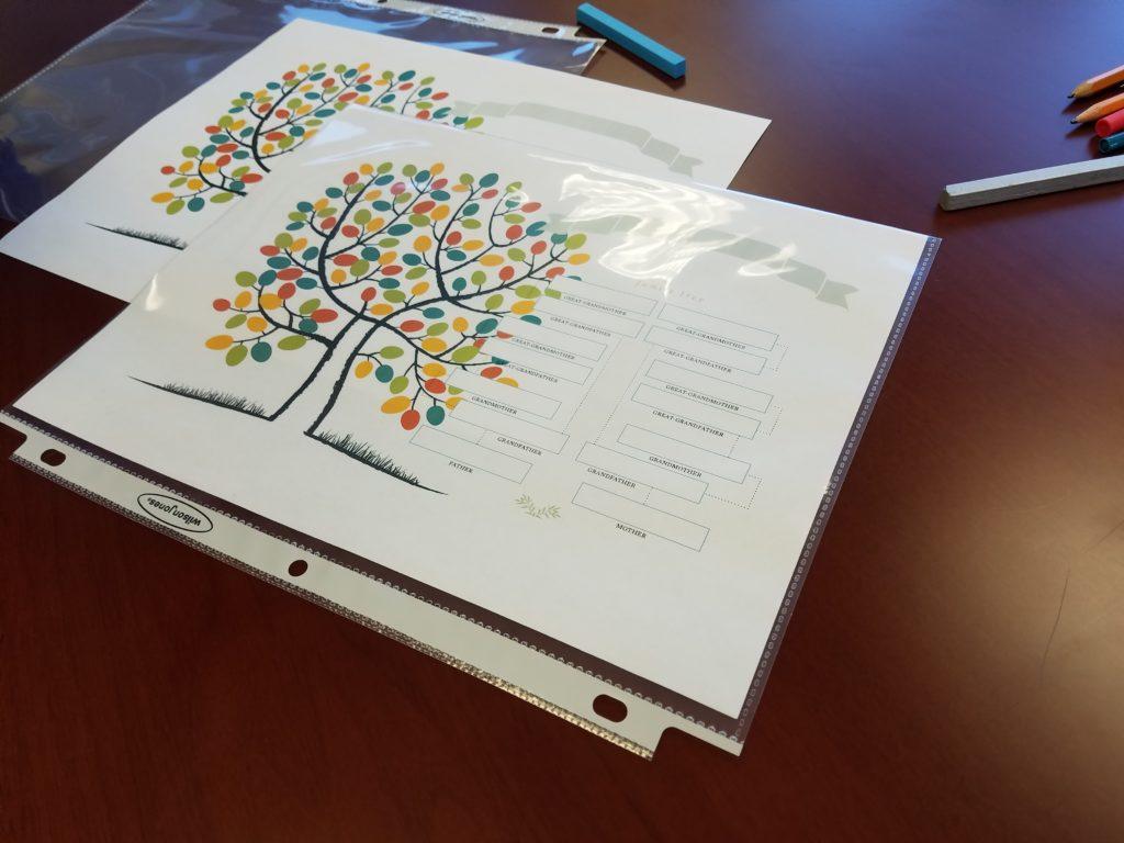 print family tree