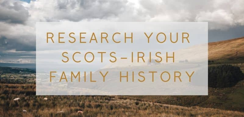 Scots-Irish course banner
