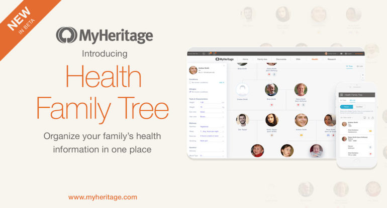 myheritage health family tree
