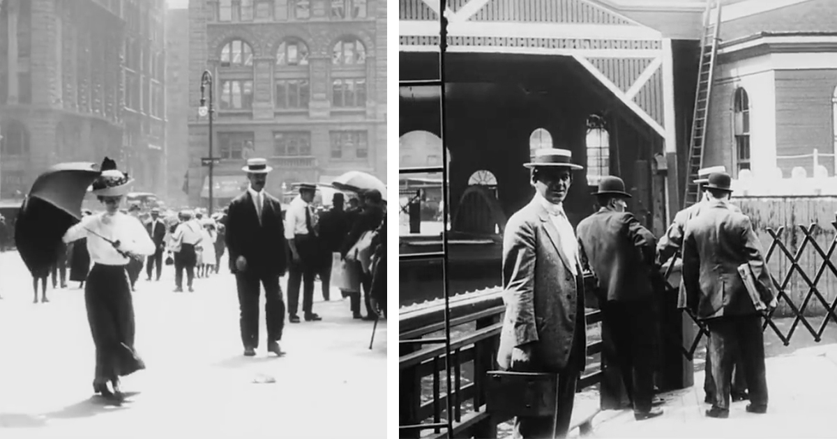 Images of New York in 1911