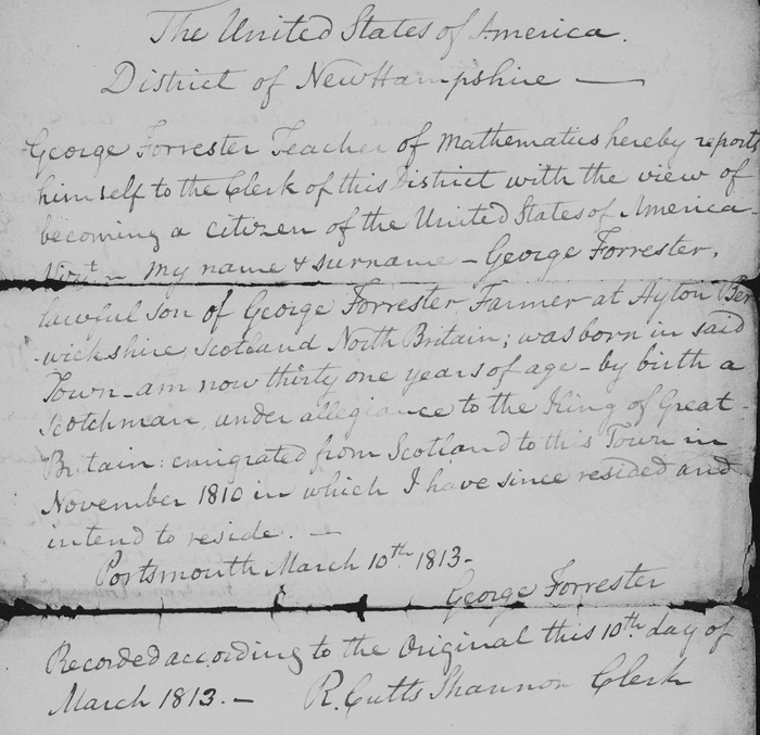 Early alien registration records, if you can find them, provide great detail about your immigrant ancestors.