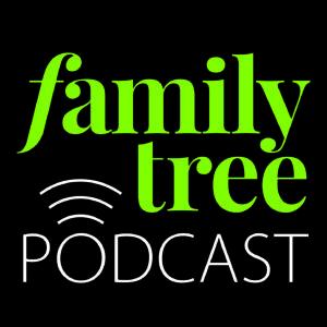 Logo of the Family Tree Podcast from Family Tree Magazine.