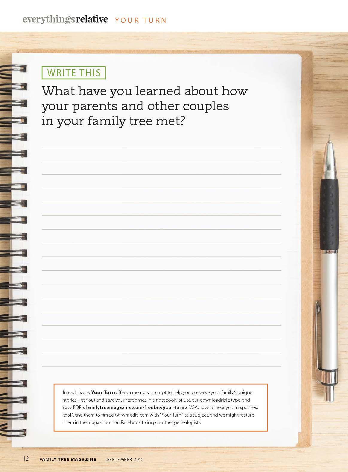 family tree magazine your turn download