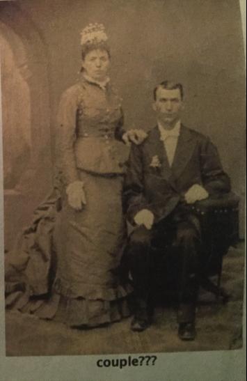 clues mystery wedding photo