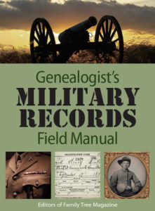 genealogists military field manual