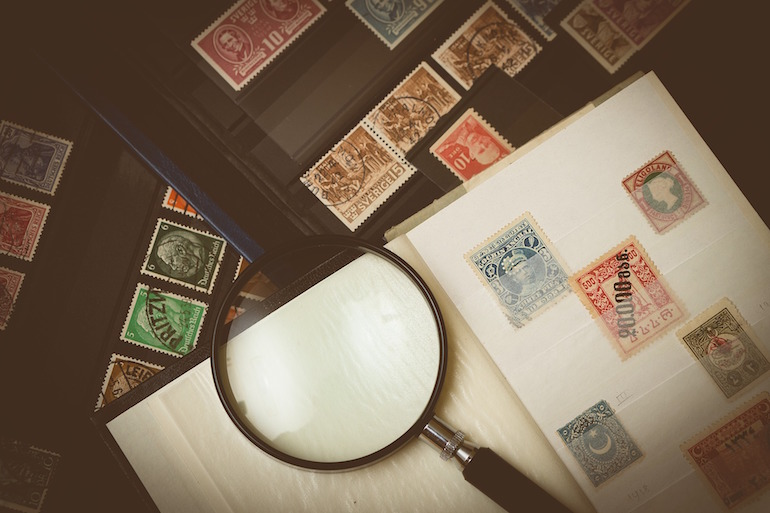 save old stamps