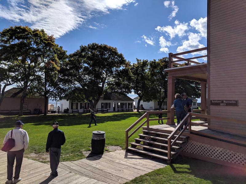 Fort Mackinac Parade Ground