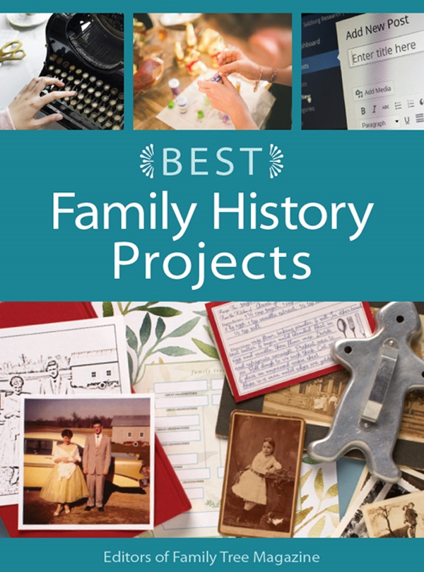 Learn about the genealogy projects that will help you see your research in a new way with the Best Family History Projects eBook.
