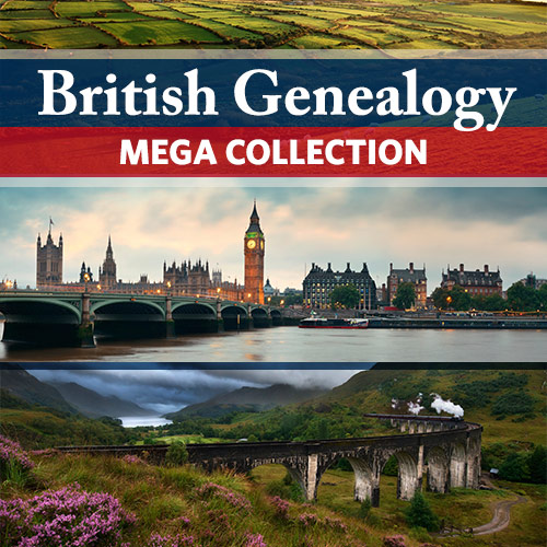 British Genealogy Mega Collection