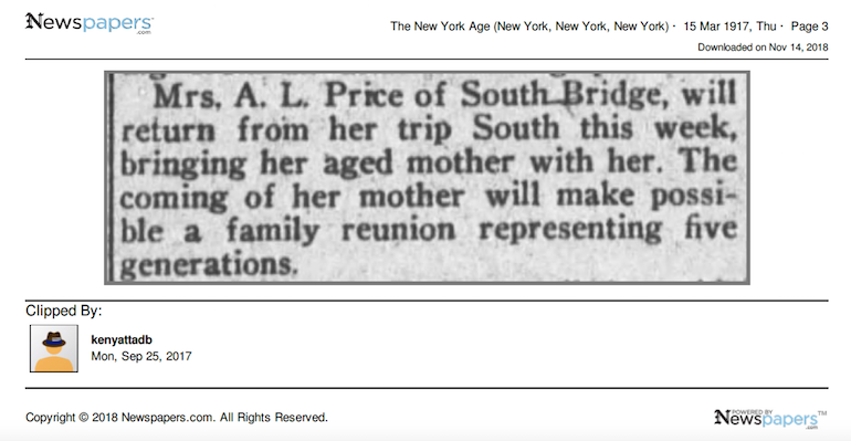 newspapers ancestors