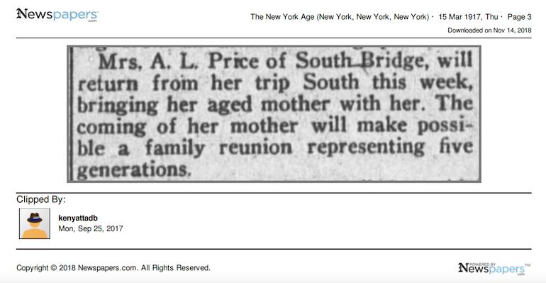 newspapers ancestors